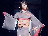 着物を用いた和のステージ