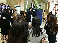 阪急百貨店1階でミニステージを開催!